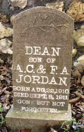 JORDAN, DEAN - Saline County, Arkansas | DEAN JORDAN - Arkansas Gravestone Photos