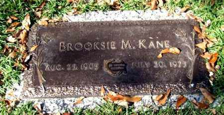 KANE, BROOKSIE M. - Saline County, Arkansas | BROOKSIE M. KANE - Arkansas Gravestone Photos