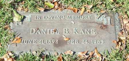 KANE, DANIEL B. - Saline County, Arkansas | DANIEL B. KANE - Arkansas Gravestone Photos