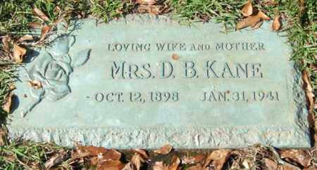 KANE, MABEL - Saline County, Arkansas | MABEL KANE - Arkansas Gravestone Photos