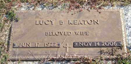 KEATON, LUCY - Saline County, Arkansas | LUCY KEATON - Arkansas Gravestone Photos