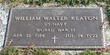 KEATON (VETERAN WWII), WILLIAM WALTER - Saline County, Arkansas | WILLIAM WALTER KEATON (VETERAN WWII) - Arkansas Gravestone Photos