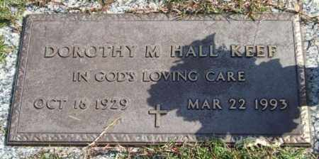 HALL KEEF, DOROTHY M. - Saline County, Arkansas | DOROTHY M. HALL KEEF - Arkansas Gravestone Photos