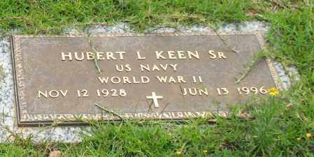 KEEN, SR. (VETERAN WWII), HUBERT L. - Saline County, Arkansas | HUBERT L. KEEN, SR. (VETERAN WWII) - Arkansas Gravestone Photos