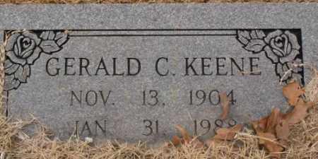 KEENE, GERALD C - Saline County, Arkansas | GERALD C KEENE - Arkansas Gravestone Photos