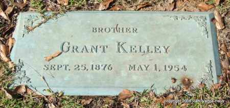 KELLEY, GRANT - Saline County, Arkansas | GRANT KELLEY - Arkansas Gravestone Photos
