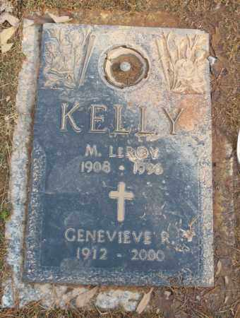 KELLY, GENEVIEVE R. - Saline County, Arkansas | GENEVIEVE R. KELLY - Arkansas Gravestone Photos