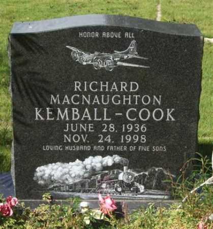 KEMBALL-COOK, RICHARD MACNAUGHTON - Saline County, Arkansas | RICHARD MACNAUGHTON KEMBALL-COOK - Arkansas Gravestone Photos
