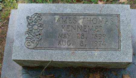 KENNEMER, JAMES THOMAS - Saline County, Arkansas | JAMES THOMAS KENNEMER - Arkansas Gravestone Photos