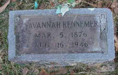 KENNEMER, SAVANNAH - Saline County, Arkansas | SAVANNAH KENNEMER - Arkansas Gravestone Photos