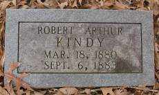 KINDY, ROBERT ARTHUR - Saline County, Arkansas | ROBERT ARTHUR KINDY - Arkansas Gravestone Photos