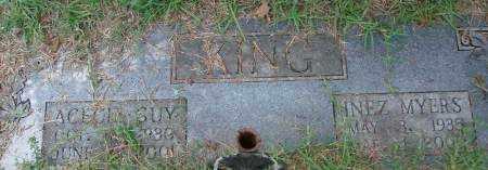 MYERS KING, INEZ - Saline County, Arkansas | INEZ MYERS KING - Arkansas Gravestone Photos
