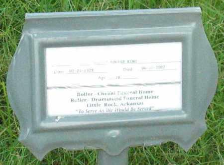 KING, MARTHA LOUISE - Saline County, Arkansas | MARTHA LOUISE KING - Arkansas Gravestone Photos