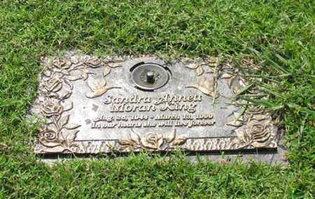 MORAN KING, SANDRA ANNETT - Saline County, Arkansas | SANDRA ANNETT MORAN KING - Arkansas Gravestone Photos
