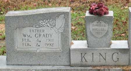 KING, WILLIAM BRADY - Saline County, Arkansas | WILLIAM BRADY KING - Arkansas Gravestone Photos