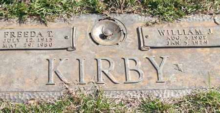 KIRBY, FREEDA T. - Saline County, Arkansas | FREEDA T. KIRBY - Arkansas Gravestone Photos