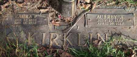 KIRKLIN, LAURA P. - Saline County, Arkansas | LAURA P. KIRKLIN - Arkansas Gravestone Photos