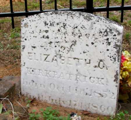 KIRKPATRICK, ELIZABETH C - Saline County, Arkansas   ELIZABETH C KIRKPATRICK - Arkansas Gravestone Photos
