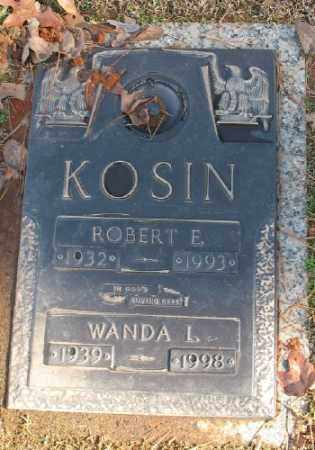 KOSIN, ROBERT E. - Saline County, Arkansas | ROBERT E. KOSIN - Arkansas Gravestone Photos