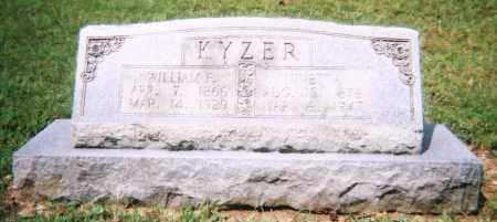 KYZER, WILLIAM FREDERICK - Saline County, Arkansas | WILLIAM FREDERICK KYZER - Arkansas Gravestone Photos