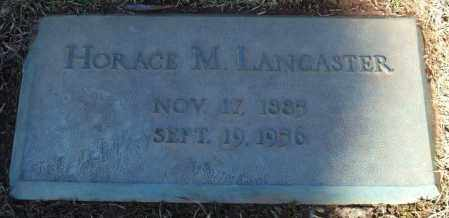 LANCASTER, HORACE M. - Saline County, Arkansas | HORACE M. LANCASTER - Arkansas Gravestone Photos