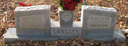 LANGLEY, JAMES EDWARD - Saline County, Arkansas | JAMES EDWARD LANGLEY - Arkansas Gravestone Photos