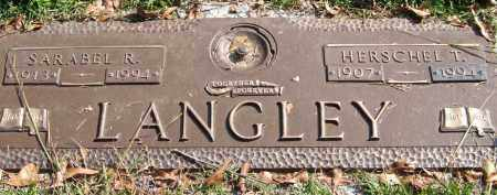 LANGLEY, HERSCHEL T. - Saline County, Arkansas | HERSCHEL T. LANGLEY - Arkansas Gravestone Photos
