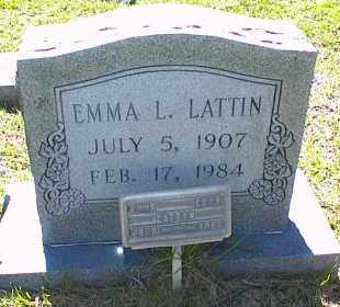 LATTIN, EMMA LEONA - Saline County, Arkansas | EMMA LEONA LATTIN - Arkansas Gravestone Photos