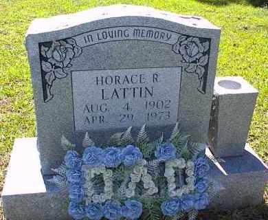 LATTIN, HORACE RAY - Saline County, Arkansas | HORACE RAY LATTIN - Arkansas Gravestone Photos