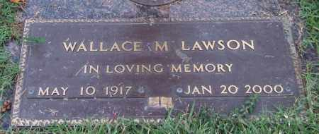 LAWSON, WALLACE M. - Saline County, Arkansas | WALLACE M. LAWSON - Arkansas Gravestone Photos
