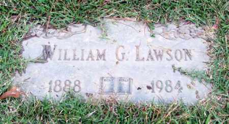 LAWSON, WILLIAM G. - Saline County, Arkansas | WILLIAM G. LAWSON - Arkansas Gravestone Photos