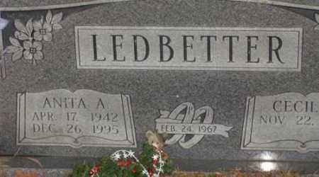 LEDBETTER, ANITA A - Saline County, Arkansas | ANITA A LEDBETTER - Arkansas Gravestone Photos