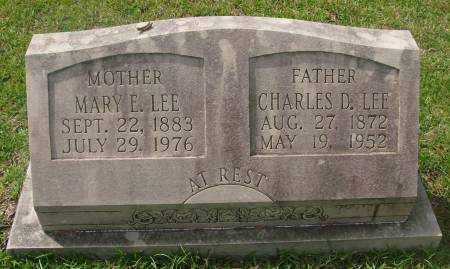 LEE, MARY E. - Saline County, Arkansas | MARY E. LEE - Arkansas Gravestone Photos