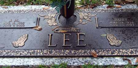 LEE, RUBY - Saline County, Arkansas | RUBY LEE - Arkansas Gravestone Photos