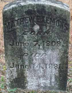 LEMONS, MATHEW E. - Saline County, Arkansas | MATHEW E. LEMONS - Arkansas Gravestone Photos