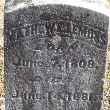 LEMONS, MATHEW - Saline County, Arkansas | MATHEW LEMONS - Arkansas Gravestone Photos