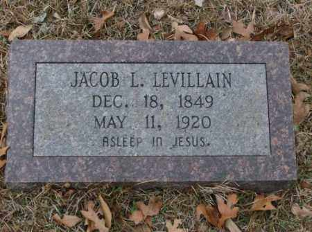 LEVILLAIN, JACOB L. - Saline County, Arkansas | JACOB L. LEVILLAIN - Arkansas Gravestone Photos