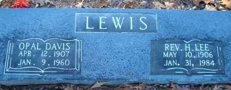 LEWIS, REV, H LEE - Saline County, Arkansas | H LEE LEWIS, REV - Arkansas Gravestone Photos