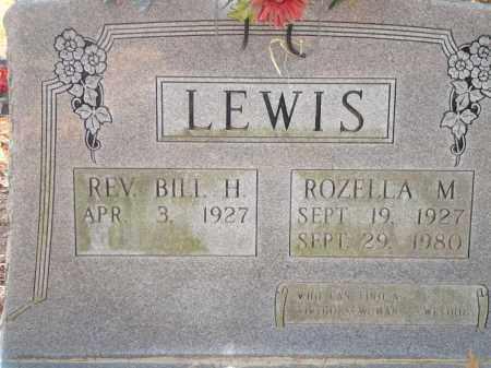LEWIS, ROZELLA M - Saline County, Arkansas | ROZELLA M LEWIS - Arkansas Gravestone Photos