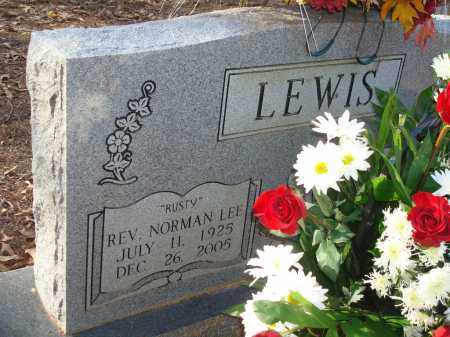 "LEWIS, REV, NORMAN LEE ""RUSTY"" - Saline County, Arkansas 