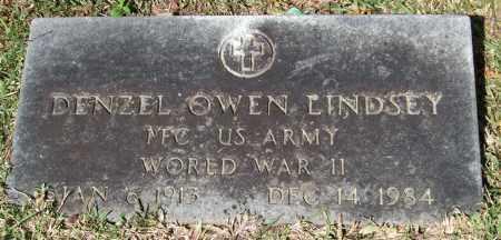 LINDSEY (VETERAN WWII), DENZEL OWEN - Saline County, Arkansas | DENZEL OWEN LINDSEY (VETERAN WWII) - Arkansas Gravestone Photos