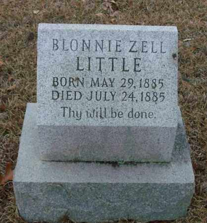 LITTLE, BLONNIE ZELL - Saline County, Arkansas | BLONNIE ZELL LITTLE - Arkansas Gravestone Photos