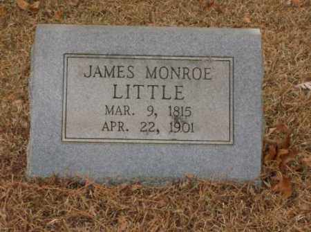 LITTLE, JAMES MONROE - Saline County, Arkansas | JAMES MONROE LITTLE - Arkansas Gravestone Photos