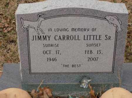 LITTLE, SR., JIMMY CARROLL - Saline County, Arkansas | JIMMY CARROLL LITTLE, SR. - Arkansas Gravestone Photos
