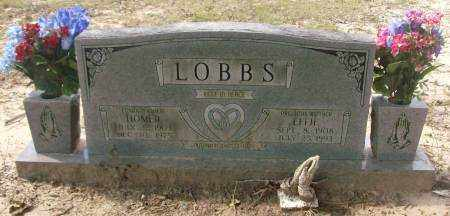 LOBBS, HOMER - Saline County, Arkansas | HOMER LOBBS - Arkansas Gravestone Photos