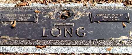 LONG, KENNETH MARTINH - Saline County, Arkansas | KENNETH MARTINH LONG - Arkansas Gravestone Photos