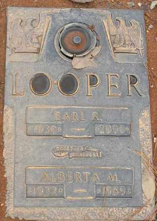 LOOPER, ALBERTA M. - Saline County, Arkansas | ALBERTA M. LOOPER - Arkansas Gravestone Photos