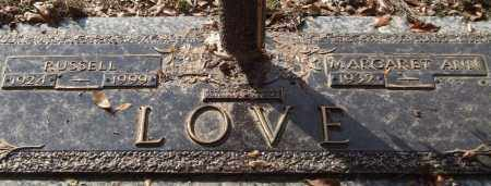 LOVE, RUSSELL - Saline County, Arkansas | RUSSELL LOVE - Arkansas Gravestone Photos