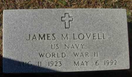 LOVELL (VETERAN WWII), JAMES M - Saline County, Arkansas | JAMES M LOVELL (VETERAN WWII) - Arkansas Gravestone Photos
