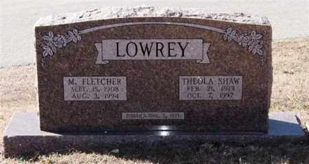 LOWREY, THEOLA - Saline County, Arkansas | THEOLA LOWREY - Arkansas Gravestone Photos